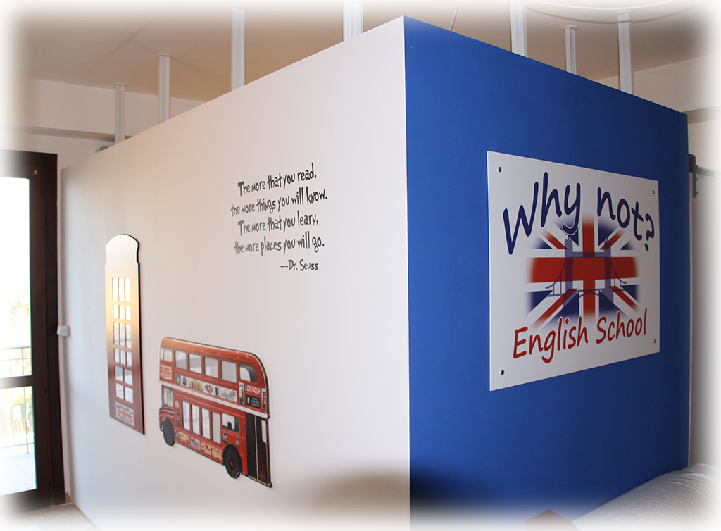 Why Not? English School. Salottino